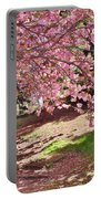 Sunny Patch Under The Cherry Trees Portable Battery Charger