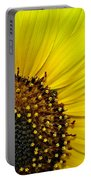 Sunny Summer Sunflower Portable Battery Charger
