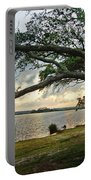 Sunrise Across The Lagoon Portable Battery Charger
