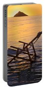 Sunrise Beach Lounging Portable Battery Charger