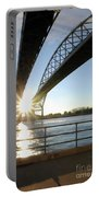 Sunrise Blue Water Bridges Portable Battery Charger