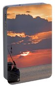 Sunrise In Crete Portable Battery Charger