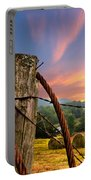Sunrise Lasso Portable Battery Charger by Debra and Dave Vanderlaan