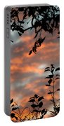 Sunrise Leaves Portable Battery Charger