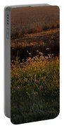 Sunrise On Wild Grasses II Portable Battery Charger