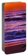 Sunrise Sea And Seagull Portable Battery Charger