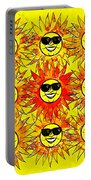 Suns Party Portable Battery Charger