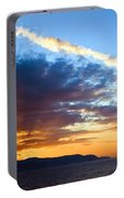Sunset At Costa Del Sol Portable Battery Charger