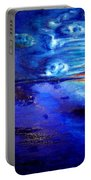 Sunset At Sea By Ted Jec. Portable Battery Charger