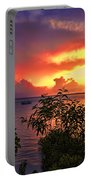 Sunset At The Top-end V2 Portable Battery Charger