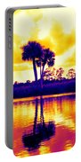 Sunset Colour Portable Battery Charger