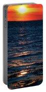 Sunset Denmark Samsoe Island Portable Battery Charger