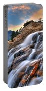 Sunset Falls Landing Portable Battery Charger