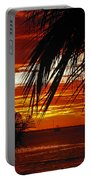 Sunset In Cancun Portable Battery Charger