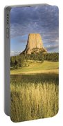 Sunset On Devils Tower Wyoming United Portable Battery Charger
