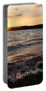 Sunset On The Bay Of Fundy Portable Battery Charger
