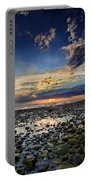 Sunset Over Bound Brook Island Portable Battery Charger