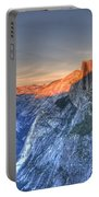 Sunset Over Half Dome Portable Battery Charger