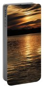 Sunset Over The Lake - 3rd Place Win Portable Battery Charger