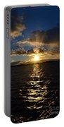 Sunset Over Winnepesaukee Portable Battery Charger