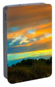 Sunset Palm Folly Beach  Portable Battery Charger