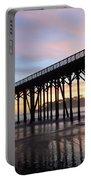 Sunset Pier San Simeon California 2 Portable Battery Charger