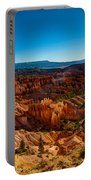 Sunset Sunrise Portable Battery Charger by Chad Dutson