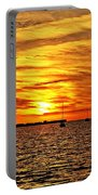 Sunset Xxxi Portable Battery Charger