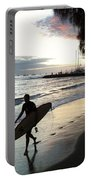 Sunset Surf Portable Battery Charger