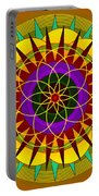 sunshine passion Flower Portable Battery Charger