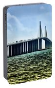 Sunshine Skyway Bridge - Tampa Bay Portable Battery Charger