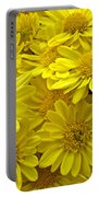 Sunshine Yellow Chrysanthemums Portable Battery Charger