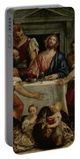 Supper At Emmaus Portable Battery Charger