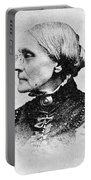 Susan B. Anthony, American Civil Rights Portable Battery Charger by Photo Researchers, Inc.