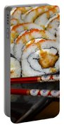 Sushi And Chopsticks Portable Battery Charger