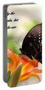 Swallowtail Card Portable Battery Charger