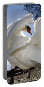 Swan In Backlight Portable Battery Charger