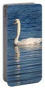 Swan Mates Portable Battery Charger by Sabrina L Ryan