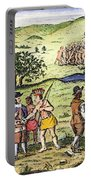 Swedish Colonists, 1702 Portable Battery Charger