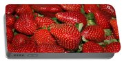 Sweet Florida Strawberries Portable Battery Charger