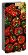 Sweet Red Peppers Portable Battery Charger
