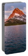 Swiftcurrent Lake At Dawn Portable Battery Charger