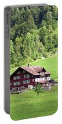 Swiss Village In The Alps Portable Battery Charger