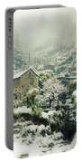 Switzerland In Winter Portable Battery Charger by Joana Kruse