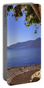 sycamore tree at the Lake Maggiore Portable Battery Charger by Joana Kruse