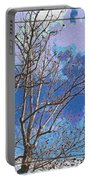 Sycamore Tree Branch Art Portable Battery Charger