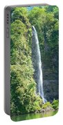 Tahitian Waterfall Portable Battery Charger