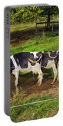 Tail Of Two Cows Portable Battery Charger
