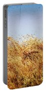 Tall Grass In The Wind Portable Battery Charger