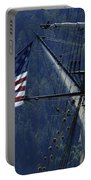 Tall Ship 3 Portable Battery Charger by Bob Christopher